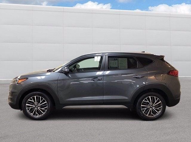 Used 2019 Hyundai Tucson SEL with VIN KM8J3CAL7KU919555 for sale in Hermantown, Minnesota
